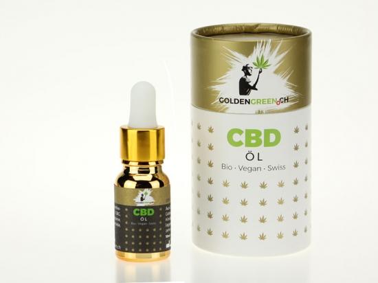 Olio di CBD / CBD olio 20%, 10ml Scatola rotonda