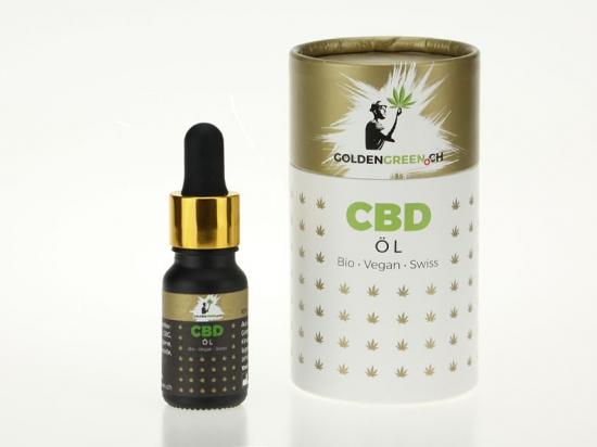Olio di CBD / Olio di canapa CBD 5%, 10ml Scatola rotonda