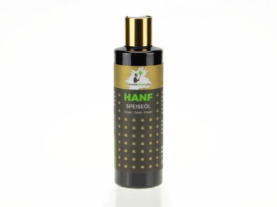 Olio di canapa olio da cucina / olio di insalata di canapa olio naturale 100%, 250 ml