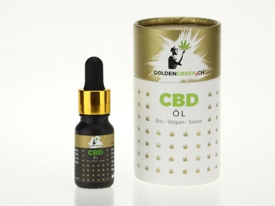 Olio di CBD / CBD olio 10%, 10ml Scatola rotonda