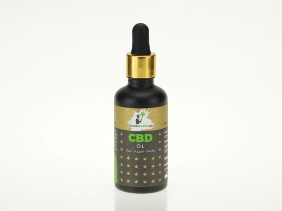Olio di CBD / CBD olio 10%, 50ml Scatola rotonda