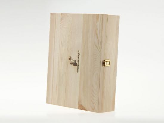 GOLDENGREEN Geschenkbox aus Holz